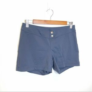 Athleta Black Mini Athletic Compression Shorts